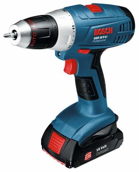 Bosch GSR 18 LI